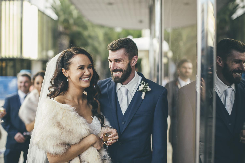 Wedding in Perth city