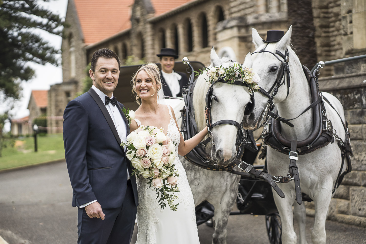 wedding horse and carriage Perth