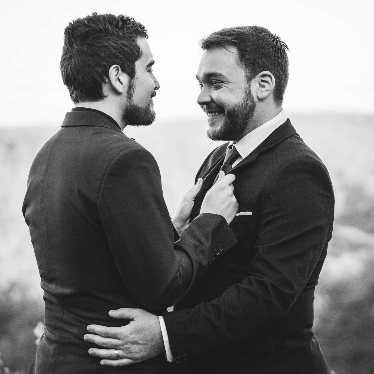 Two grooms Perth same sex wedding