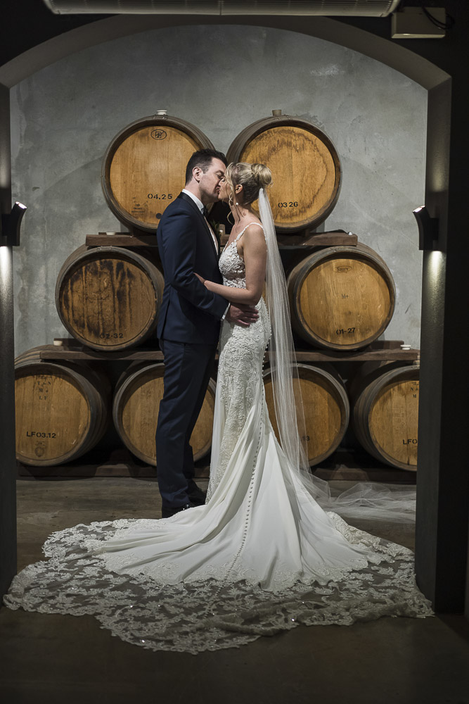 bride and groom Millbrook winery