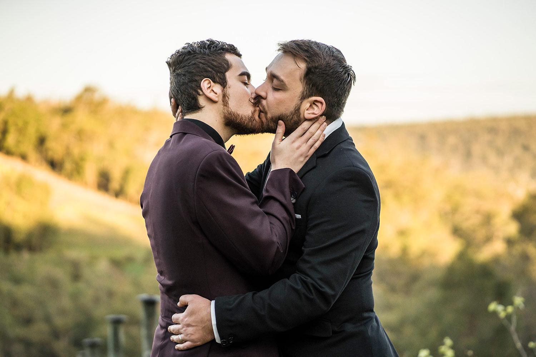 two grooms same sex wedding photography Darlington Estate